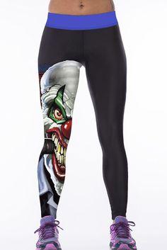3D Print High Waist Womens Sport Yoga Pants