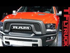 Watch the Raptor Fighing 2015 RAM Rebel Pickup Debut at the Detroit Auto...