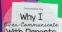 Simply Speech: Why I Over-Communicate with Parents