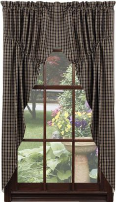 Virginia House Swag Curtains as featured in Country Sampler ...