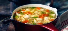 Herbed Lemon Chicken Noodle Soup