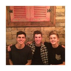 Jack, Jack and Shawn We Heart It ❤ liked on Polyvore featuring shawn mendes