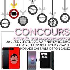 Des accessoires pour téléphone à gagner chez Maman Chou, le blog d'une maman serial-acheteuse!   http://mamanchou.fr/concours-cest-noel-caseable/