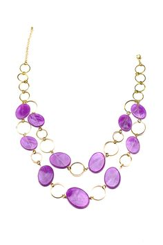 Dressing Your Truth - Type 1 Violet Delight Necklace $19.00