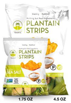 Sea Salt Plantains Palm Oil, Whole 30 Recipes, Sea Salt, Healthy Snacks, Snack Recipes, Paleo, Artisan, Chips, Tropical