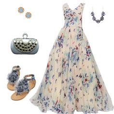 Maxi dress in hippie style. For more follow www.pinterest.com/ninayay and stay positively #pinspired #pinspire @ninayay