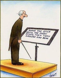 Funny pictures about Orchestra conductor. Oh, and cool pics about Orchestra conductor. Also, Orchestra conductor photos. Music Jokes, Jazz Music Stops Meme, Band Jokes, Band Nerd, E Mc2, Music Stuff, Funny Jokes, Music Memes Funny, Choir Memes