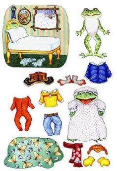 Freddie Frog Felt Figures for Flannelboard Stories Freddie Froggy Gets Dressed- Precut & Ready to Use by Story Time Felts. $13.99. Help this froggy get dressed for his day. Talk about why clothes are important to wear and fun to put on.  The Freddie Frog Gets Dressed felt set includes: - 14 felt figures - 2 original stories.  Flannel board is not included.