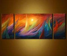 abstract modern paintings | Original Abstract Art - Modern Art and Landscape Paintings by Osnat ...
