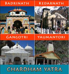 Char Dham Yatra is considered as the most sacred pilgrimage yatra for Hindus in India. The CharDhams (basically Chota Char Dham of Uttarakhand) consists of Yamunotri, Gangotri, Kedarnath and Badrinath in Uttarakhand.