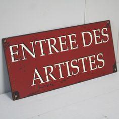 Plaque Deco Cuisine Rouge Rétro Vintage  Visiter cosydeco.com
