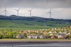 It may be gloomy, windy and rainy, but the Scottish weather may have its upsides too. in October, Scotland generated enough power from wind to power up eve