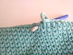 Tu vidieť, kde presne musíme pichať háčik (pozor, tu je háčik pre názornosť z opačnej strany) Merino Wool Blanket, Keds, Bags