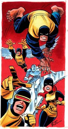 X-Men by Bruce Timm