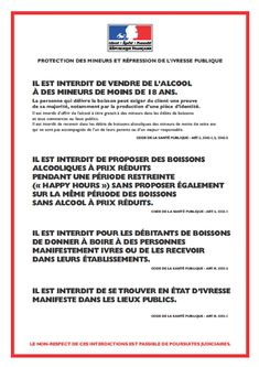"""Résultat de recherche d'images pour """"panneau législation mineur"""""""