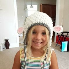 Little Lamb hat by sewunexpected1 for $20.00
