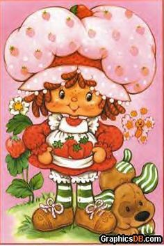 Strawberry Shortcake was the stuff. ahhh-memories