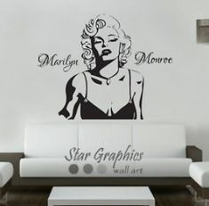 Marilyn Monroe Stencil, Marilyn Monroe Wall Art, Marilyn Monroe Poster, Mural Wall Art, Vinyl Wall Art, Wall Art Decor, Canvas Art Prints, Canvas Wall Art, Wall Decor Stickers