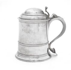 A provincial George II silver tankard by John Thompson I of Durham, Newcastle 1732 Bond Street, Durham, Newcastle, Auction, English, Silver, English Language, Money