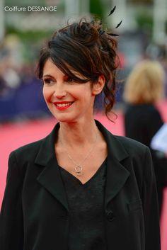 Zabou Breitman #DESSANGE #Deauville2015 #CoiffeurOfficiel
