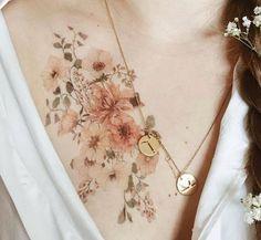 Love the muted tones-tt – Tatto Time Pretty Tattoos, Love Tattoos, Beautiful Tattoos, Body Art Tattoos, New Tattoos, Sister Tattoos, Piercings, Piercing Tattoo, Mini Tattoos