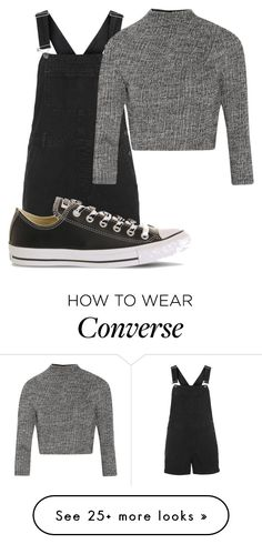 """""""Untitled #10607"""" by xxxlovexx on Polyvore featuring Topshop, Converse and Alice + Olivia"""