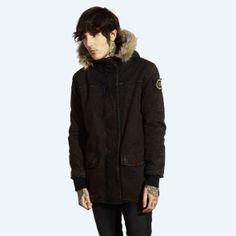 Drop Dead Clothing - Nandoparrado Parka Jacket # aaaand I'm gonna buy this.