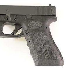 Black Punisher Grips for Glock 19,23,25,32,38