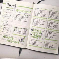 This week's spread from tumblr user genspen!  #study #studyblr #studyspo…