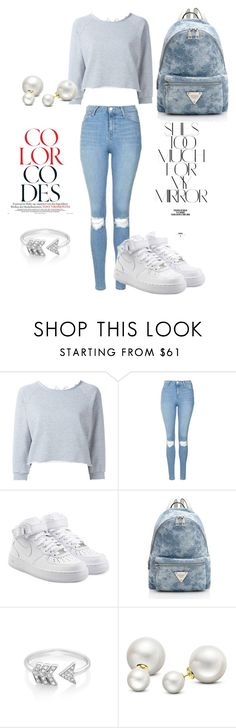 """Summer"" by alytavarysek on Polyvore featuring Gaëlle Bonheur, Topshop, NIKE, Rika, EF Collection and Allurez"