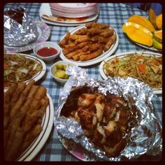 Filipino foods