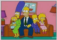 The Simpsons grow up. - Imgur