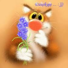 Fluffy postcard from Leo Barteneva. Page 11 Animal Painter, Kitten Cartoon, Cat Cupcakes, Cute Cartoon Pictures, Gift From Heaven, Gif Animé, Cute Illustration, Illustration Children, Cat Gif