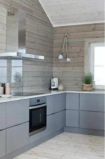 Wooden Kitchen, Kitchen Dining, Kitchen Decor, Kitchen Grey, Smart Kitchen, Kitchen Design Open, Interior Design Kitchen, Cottage Kitchens, Home Kitchens