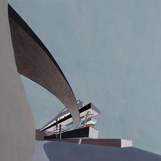 Peak Leisure Club proposal, Hong Kong. Middle East Culture, Importance Of Art, Deconstructivism, Downtown Miami, Zaha Hadid Architects, Dezeen, Sculpture, Birds Eye View, Schumacher