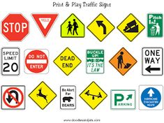 Image result for traffic rules worksheets for kindergarten