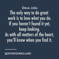 Reposting @interviewkillers: Stay hungry. Stay foolish. Some #mondaymotivation by visionary extraordinaire Steve Jobs.