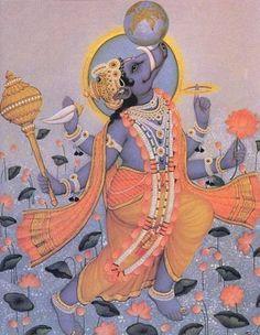 Varaha - 3rd avatar of Vishnu, the boar