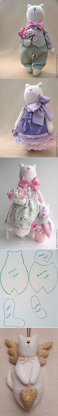 Sewing Toys, Sewing Crafts, Sewing Projects, Sewing Stuffed Animals, Stuffed Animal Patterns, Doll Clothes Patterns, Doll Patterns, Fabric Animals, Fabric Toys