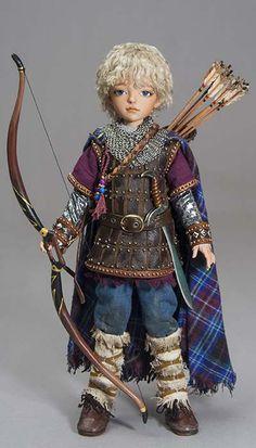 Martha Boers doll