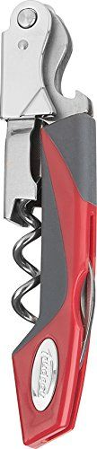 Trudeau Turbo Double Lever Corkscrew Red -- Visit the image link more details.
