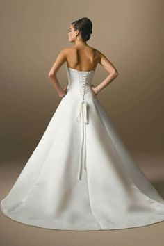 Simple Romantic Cheap Wedding DressSimpleRomanticFashionWedding