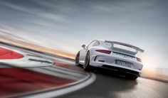 #Porsche #911 #GT3: The addition of 100 mm to the wheelbase of the new 911 GT3 has significantly increased driving stability. Learn more: http://link.porsche.com/gt3?pc=99181PINGA  Combined fuel consumption in accordance with EU 5: 12,4 l/100km, CO2 emissions: 289 g/km