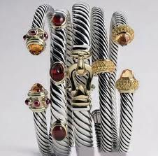 David Yurman--only have one, wished I had several of these bracelets! Pearl Jewelry, Jewelry Box, Jewelery, Silver Jewelry, Jewelry Accessories, Jewelry Design, Fall Accessories, Designer Jewelry, Unique Jewelry