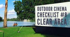 Outdoor Cinema – Site checklist – FAQ's Cinema Site, Outdoor Cinema, Link, Drive Thru Movie Theater, Outside Movie