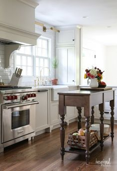 Bayberry Kitchen Remodel Reveal - Inspired by Charm Kitchen Makeover Bayberry Kitchen Remodel Reveal - Inspired by Charm Kitchen Makeover All White Kitchen, Old Kitchen, Kitchen On A Budget, Updated Kitchen, Kitchen Redo, Kitchen Ideas, Kitchen Designs, Nice Kitchen, Smart Kitchen