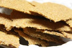 Easy Carrot Crackers
