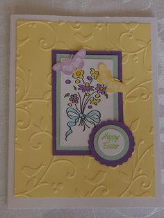 Handmade Easter card. Avavliable on Etsy: https://www.etsy.com/listing/125770395/handmade-happy-easter-butterfly-card