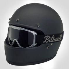 "BILTWELL ""Gringo"" Helmet - Matt Black"