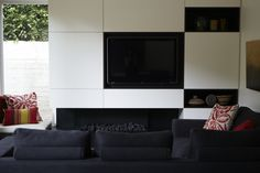 Living Area by Hare + Klein - Eastern Suburbs Residence Living Area, Interior, Dining Room Walls, Commercial Interior Design, Commercial Interiors, Interior Designers, Fireplace Parts, Interior Design, Interior Design Services